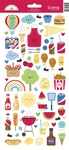 Bar-B-Cute Icons Stickers - Doodlebug