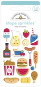 Bar-B-Cute Shape Sprinkles - Doodlebug