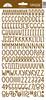 Bon Bon Sunshine Cardstock Alpha Stickers - Doodlebug