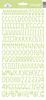 Limeade Sunshine Cardstock Alpha Stickers - Doodlebug