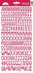 Ladybug Sunshine Cardstock Alpha Stickers - Doodlebug - PRE ORDER