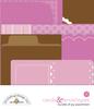 Baby Girl Cards & Envelopes - Doodlebug