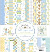 Special Delivery 12 x 12 Paper Pack - Doodlebug