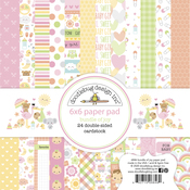 Bundle Of Joy 6 x 6 Paper Pad - Doodlebug - PRE ORDER