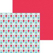 Cool Summer Paper - Land That I Love - Doodlebug