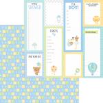 Baby Blocks Paper - Special Delivery - Doodlebug