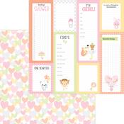 Showered With Love Paper - Bundle Of Joy - Doodlebug