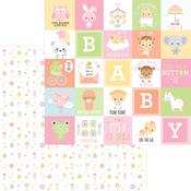 Binkies & Bottles Paper - Bundle Of Joy - Doodlebug