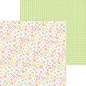 Baby Blooms Paper - Bundle Of Joy - Doodlebug