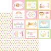 Cute As A Button Paper - Bundle Of Joy - Doodlebug
