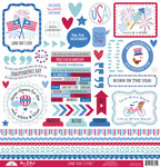 Land That I Love This & That Sticker Sheet - Doodlebug