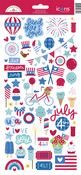 Land That I Love Icons Stickers - Doodlebug - PRE ORDER