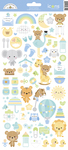 Special Delivery Icons Sticker Sheet - Doodlebug