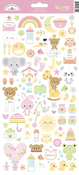 Bundle Of Joy Icons Stickers - Doodlebug - PRE ORDER
