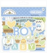 Special Delivery Chit Chat Ephemera - Doodlebug