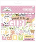 Bundle Of Joy Chit Chat Ephemera - Doodlebug