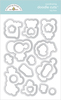 Toy Box Doodle Cuts - Doodlebug Various size dies that match the line - works in any standard die-cutting machine.