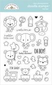 Toy Box Doodle Stamps - Doodlebug