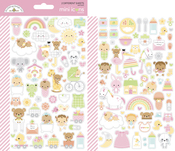 Bundle Of Joy Mini Icons Stickers - Doodlebug