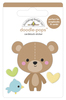 Bear Hug Doodlepop - Special Delivery - Doodlebug