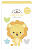 Lovable Lion Doodlepop - Special Delivery - Doodlebug