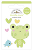 Hoppy Day Doodlepops - Bundle Of Joy - Doodlebug Doodle Pops - dimensional die cut stickers. The perfect pop of whimsy and delight, these colorful cardstock stickers are a great addition to any card, tag or gift.  Re-positional adhesive. Sticker size approx. 1.875 inches  x 1.75 inches .