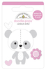 Beary Cute Doodlepops - Bundle Of Joy - Doodlebug Doodle Pops - dimensional die cut stickers. The perfect pop of whimsy and delight, these colorful cardstock stickers are a great addition to any card, tag or gift.  Re-positional adhesive. Sticker size approx. 1.875 inches  x 1.75 inches .
