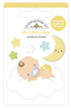 Cloud Nine Doodlepops - Bundle Of Joy - Doodlebug Doodle Pops - dimensional die cut stickers. The perfect pop of whimsy and delight, these colorful cardstock stickers are a great addition to any card, tag or gift.  Re-positional adhesive. Sticker size approx. 1.875 inches  x 1.75 inches .