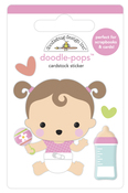 Sweet Girl Doodlepops - Bundle Of Joy - Doodlebug