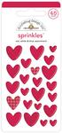 Love You More Shape Sprinkles - Doodlebug