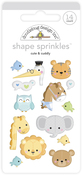 Cute & Cuddly Shape Sprinkles - Doodlebug