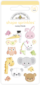Nursery Friends Shape Sprinkles - Doodlebug