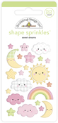 Sweet Dreams Shape Sprinkles - Doodlebug