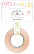 Welcome Baby Girl Washi Tape - Doodlebug