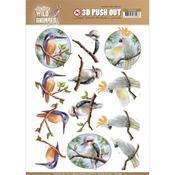 Parrot Punchout Sheet - Wild Animals Outback - Find It Trading