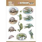 Reptiles Punchout Sheet - Wild Animals Outback - Find It Trading