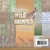 "Wild Animals Outback 6""X6"" Paper Pack - Find It Trading"