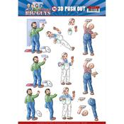 Handyman Punchout Sheet - Big Guys Workers - Find It Trading