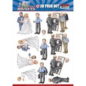 Well Dressed Punchout Sheet - Big Guys Workers - Find It Trading