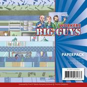"Big Guys Workers 6""X6"" Paper Pack - Find It Trading"