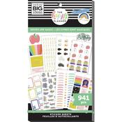 Books Are Magic Student - Happy Planner Sticker Value Pack