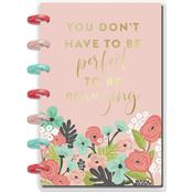 Pastel Blooms Happy Planner Mini Guided Journal W/80 Sheets - PRE ORDER