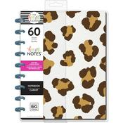 Leopard- Dot Lined Paper Happy Planner Classic Notebook W/60 Sheets