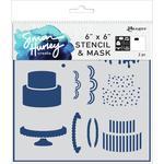 Cake Maker Simon Hurley Create 6x6 Stencil