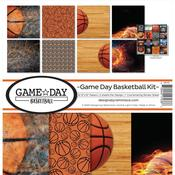Game Day Basketball 12 x 12 Reminisce Collection Kit - PRE ORDER