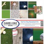 Game Day Baseball 12 x 12 Reminisce Collection Kit - PRE ORDER