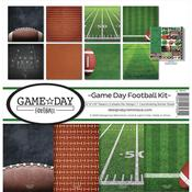 Game Day Football 12 x 12 Reminisce Collection Kit - PRE ORDER