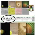 Game Day Softball 12 x 12 Reminisce Collection Kit