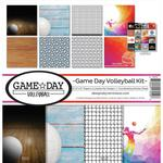 Game Day Volleyball 12 x 12 Reminisce Collection Kit