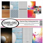 Game Day Volleyball 12 x 12 Reminisce Collection Kit - PRE ORDER